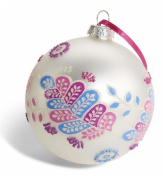Limited Edition Vera Bradley Christmas Ornament in Alpine Floral