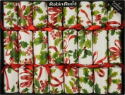 20cm X 25cm English Christmas Crackers By Robin Reed - Holiday Holly