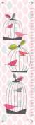 Oopsy Daisy Growth Charts Modern Birdcage by Stacy Amoo Mensah, 30cm by 110cm
