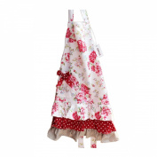G2Plus Lovely Classic Style Women's Cooking or Baking Apron with Pockets Great Gift For Wife Daughters Ladies