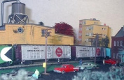 "TWO N Scale ""SWIFT"" REFRIGERATED TRAIN BOX CARS"
