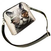 Fashion Womens Purse Crossbody Shoulder Messenger Bag Dull Polish PU Leather Satchel Small Cross-body Handbag