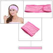 Soft Microfibre Elasticated Headband - For Cleansing, Moisturising and Applying Make-up