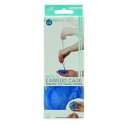 Digital Innovations The Nest Earbud Case for Tangle Free Earphone Storage - Blue