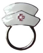 Glasses / Spectacle Nurse Hospital Retainer Hanger Brooch Pin Holder Rhinestone