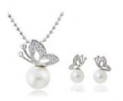 BlingBling Glitz Set of Pendant and Earring Bright