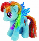 Ty UK 18cm My Little Pony Rainbow Dash Beanie by Ty UK Ltd