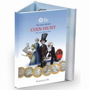 """The """"Standard Edition"""" - New Royal Mint £2 (0.9kg) Great British Coin Hunt Collector Album/Folder now with slots up to 2017"""