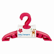 10 PACK OF BABY HANGERS PINK