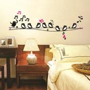 Walplus Birds Love Song Wall Stickers
