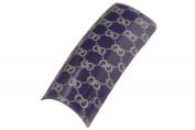 Effect Beauty 50pcs Purple Gucci Acrylic Nail Tips