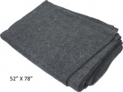 ToolUSA Adroit 130cm X 200cm Emergency Blanket With 50 Percent Wool & Synthetic Fabrics