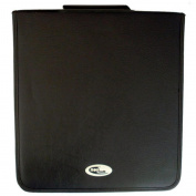 Neo Media 1 X 240 Capacity CD DVD Ring Binder Wallet Leather Storage Carry Case