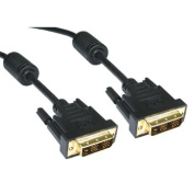 Aptii DVI-D Male to DVI-D Male Single Link Cable 18+1 pins 1m