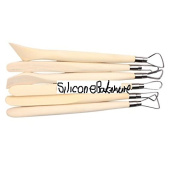 6pcs 20cm Double End Marzipan Tool in Wooden Box