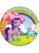 7.5 My Little Pony Edible Icing Birthday Cake Topper