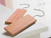 H & L Russel Cedar Wood Hanging Blocks, Set of 2