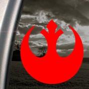 Star Wars Red Decal Rebel Alliance Truck Window Red Sticker
