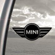 Mini Cooper Black Decal Car Truck Bumper Window Sticker
