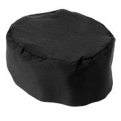 VORCOOL Breathable Mesh Top Skull Cap Professional Catering Chefs Hat with Adjustable Strap - One Size