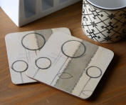Creative Tops Natural Simplicity Cork-Backed Coasters, Set of 6