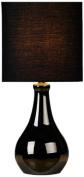 Illumini Benross Barletta Touch Lamp, Black