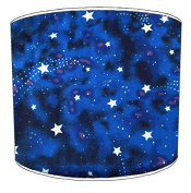 25cm Ceiling moon and stars print lampshade5