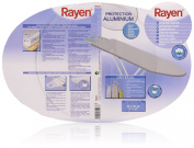 Rayen 6152 Ironing Board Cover 43 x 130 cm with Steam-Permeable Metal Coating Suitable for Steam Irons