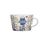 Taika White Cappuccino Cup 2cl, Home and Table Decorated Dinnerware