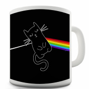Twisted Envy The Dark Side of the Cat Ceramic Mug