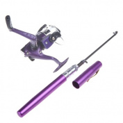 Docooler Saltwater Fishing Tackle Pen Shape Rod Pole & Reel Combos