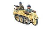 German Heer Waffen - Kettenkrad - Bolt Action - Warlord Games