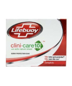 Lifebuoy 4 X Clini Care Soap 10 Time Better Production Against Germs 75G X 4 Bar
