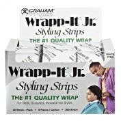 Famis Wrapp-It Jr. Black Styling Strips