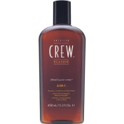 American Crew 3-in-1 Shampoo and Conditioners, 33.8 Fluid Ounce