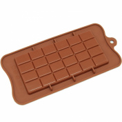 Generic CB-607BR Silicone Break-Apart Chocolate Protein and Energy Bar Mould