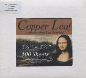 Speedball Mona Lisa Genuine Copper Leaf, 500 Sheet Pack