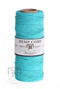 TEAL 1mm Polished Hemp Twine Hemptique Cord Macrame Bracelet Thread Artisan String 9.1kg
