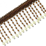 Upholstery Lace Ribbon Curtain Brown Trimming Crafting Supplies By The Yard