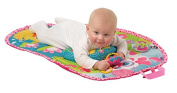 Playgro Pink Puppy Tummy Time Mat Toy