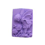 Longzang Angel Mould Craft Art Silicone Soap Mould Craft Moulds DIY