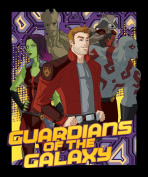 110cm Wide Guardians Of The Galaxy Cotton Fabric By The Panel