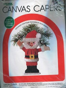 Santa Claus - Leisure Arts Plastic Canvas Capers Kit 401