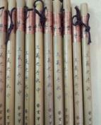 Easyou Professional Chinese Japanese Calligraphy Brush Special for Regular/Running Script Lanting Xu Transcription Sumi Drawing Brush 3pcs/pack