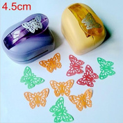 Krismile® Jef Large Butterfly Shaper Craft Punch Scrapbooking Punches Paper Puncher DIY tools Perforadora Papel Paper Cutter School k612