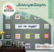 Slice Ashbury Heights Layered Shapes Card