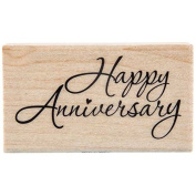 Happy Anniversary Rubber StampNew by