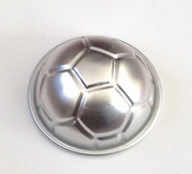 Baking Mould Metal Soccer Ball Aluminium Cake Cupcake Mould Pan Sport Decorating Fondant Paste Jello Tray Bread Sugar Crafts Chocolate Candy Mould