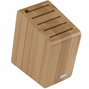 Artelegno Solid Beech Wood Magnetic Knife Block, Luxurious Italian Verona Collection by Master Craftsmen Stores up to 12 High-End Knives Elegantly, Eco-friendly, for Blades up to 25cm , Natural Finish