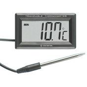 Digi-Sense Calibrated Panel-Mount Remote Probe Thermometer, -50-300C/-58-572F